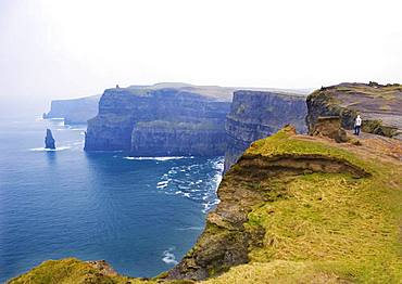 Cliffs of Moher, South West Coast, County Clare, Republic of Ireland