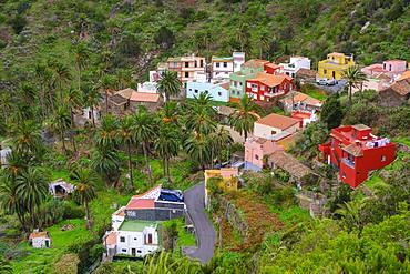 Macayo, near Vallehermoso, La Gomera, Canary Islands, Spain, Europe