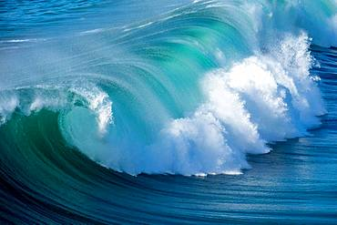 Wave, Fuerteventura, Canary Islands, Spain, Europe