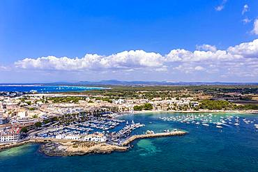 Colonia de Sant Jordi near es Trenc, Cala Galiota, Majorca, Balearic Islands, Spain, Europe