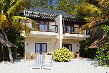 Double bungalow, two-storey, Summer Island, North Male Atoll, Maldives, Asia
