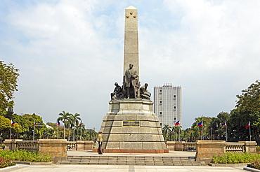 Rizal Monument in Rizal Park or Luneta, Manila, Luzon, Philippines, Asia