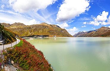Silvretta High Alpine Road, Bielerhoehe, Lake Silvretta, Silvretta Reservoir, Silvretta Group, Vorarlberg, Austria, Europe