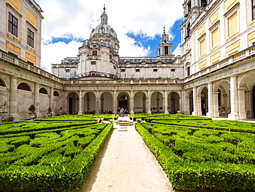 Mafra National Palace, Mafra, Portugal, Europe