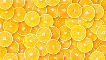 Oranges in slices, organic farming, background image, Austria, Europe