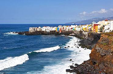 Punta Brava at Puerto de la Cruz, Tenerife, Canary Islands, Spain, Europe