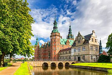 Frederiksborg Castle, Hillerod, Denmark, Europe