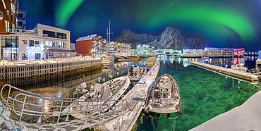 Port of Svolvaer Lofoten Norway