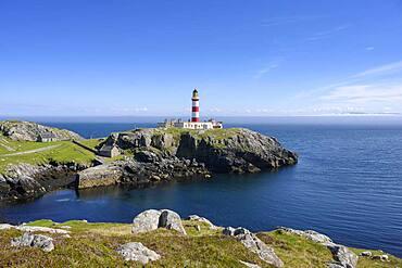 The Eilean Glass Lighthouse, Isle of Scalpa, Scotland, United Kingdom, Europe