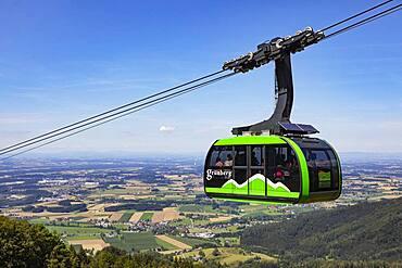 Gruenberg cable car, Gmunden, Salzkammergut, Upper Austria, Austria, Europe