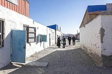 Biluu, village in the Altai Mountains, Olgii, Mongolia, Asia