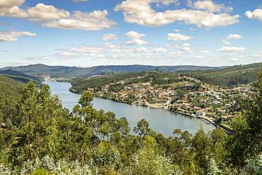 Beautiful landscapes of Douro river Valley, Porto region, Portugal, Europe