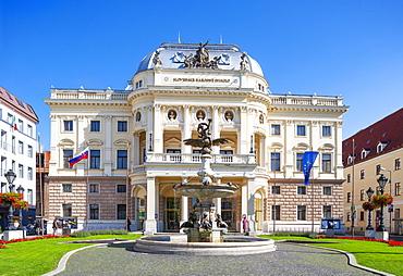 National Theatre, City Theatre, Neo-Renaissance, Bratislava, Slovakia, Europe