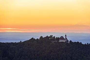 Teck Castle, Owen, Swabian Alb, Baden-Wuerttemberg, Germany, Europe