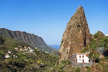 Roque Pedro, Hermigua, La Gomera, Canary Islands, Spain, Europe