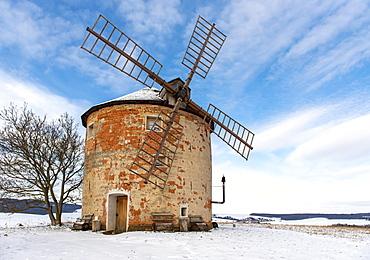 Kunkovice Windmill, Czech Republic, Europe