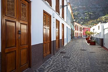 Historic village centre, Agulo, La Gomera, Canary Islands, Spain, Europe