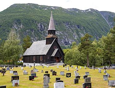 Gjora Chapel, Parish Church, Gjora, Norway, Europe