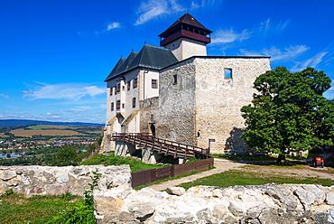 Trencin Castle, Trencin, Slovakia, Europe