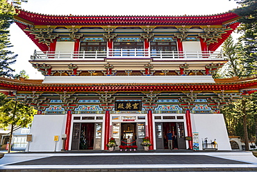 Syuentzang Temple, Sun Moon Lake National Scenic Area, Nantou county, Taiwan, Asia