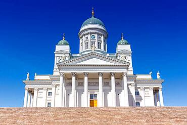 Cathedral Church Tuomiokirkko Travel Travel Tourism in Helsinki, Finland, Europe