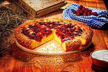 Cherry fruit pie, fruitcake - 832-391134