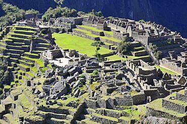 Inca ruined city, Machu Picchu, Urubamba Province, Peru, South America