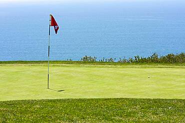 View from torrey pines golf course in san diego California, USA, North America