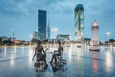 City view, Ajaria, Batumi, Georgia, Asia