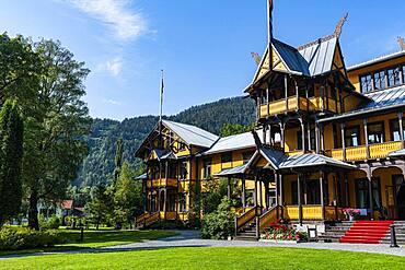 Historic Dalen hotel, Dalen, Telemark, Norway, Europe