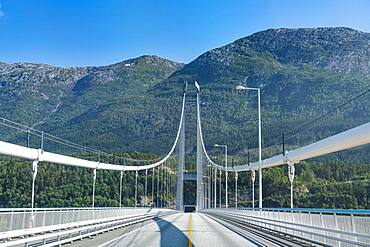Hardanger Bridge, Eidfjord, Norway, Europe