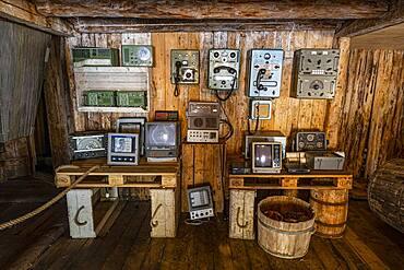 Museum in the little fishing village of Nusfjord, Lofoten, Norway, Europe