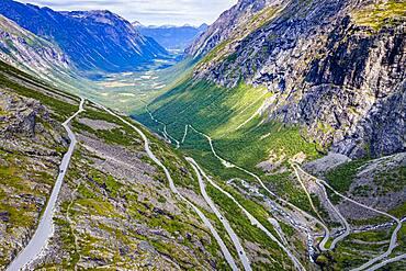 Trollstigen mountain road, Norway, Europe