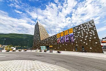 Oudoor center in Aldalsnes, Norway, Europe