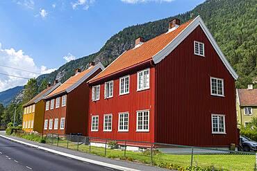 Workers houses, Unesco world heritage Industrial site Rjukan-Notodden, Norway, Europe