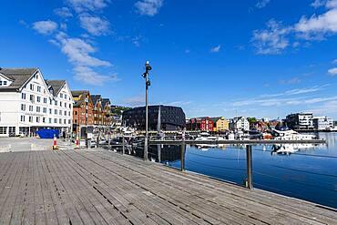 Harbour of Tromso, Norway, Europe