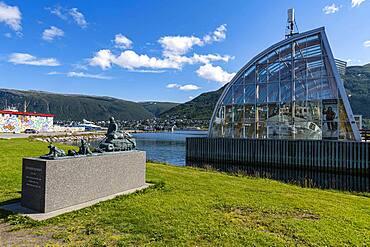 Polaria, arctis aquarium, Tromso, Norway, Europe