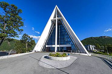 Arctic cathedral, Tromso, Norway, Europe