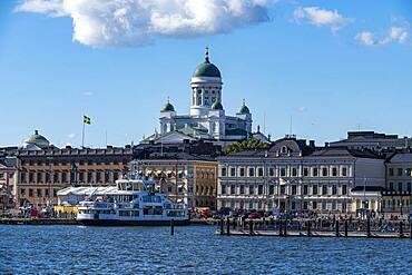 Skyline of Helsinki, Finland, Europe