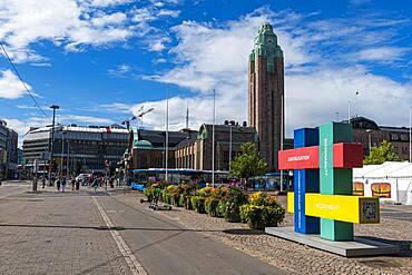 Downtown Helsinki, Finland, Europe