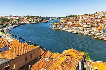 Old architecture of Porto and Vila Nova de Gaia, North Region, Portugal, Europe