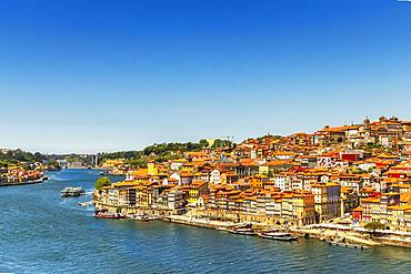 Historic architecture in downtown of amazing city of Porto, North Region, Portugal, Europe