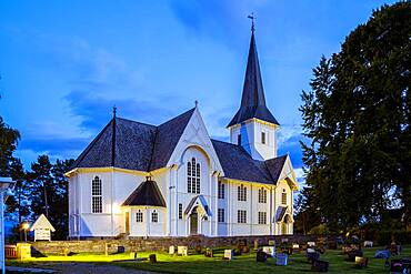 Robekk Church, Molde, Norway, Europe