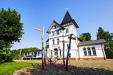 Gadebusch train station, Mecklenburg-Western Pomerania, Germany, Europe