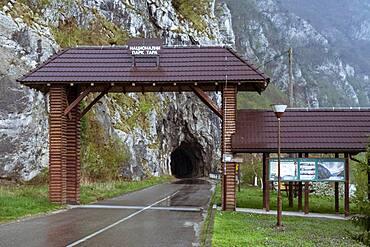Tara National Park entrance, Tara National Park, Serbia, Europe