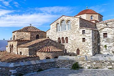 Greek Orthodox Church Panagia Ekatontapyliani, Parikia, Paros, Cyclades, Aegean Sea, Greece, Europe