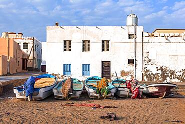 Fisher boats, Sur, Sultanate Of Oman