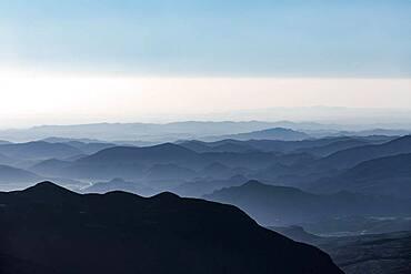 Landscape of Jebel Shams, Sultanate Of Oman
