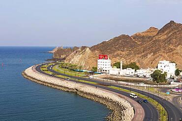 Coastal highway, Mutrah, Sultanate Of Oman