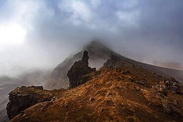 Landscape, Tongariro National Park, Ruapehu District, North Island, New Zealand, Oceania